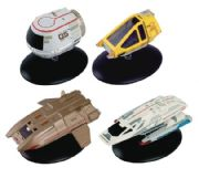 Star Trek Official Starships Collection Shuttlecraft Series 3 Set Eaglemoss